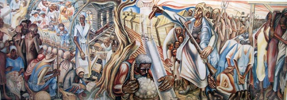 Contribution of Negro Women to Education and Life in America, by John Biggers